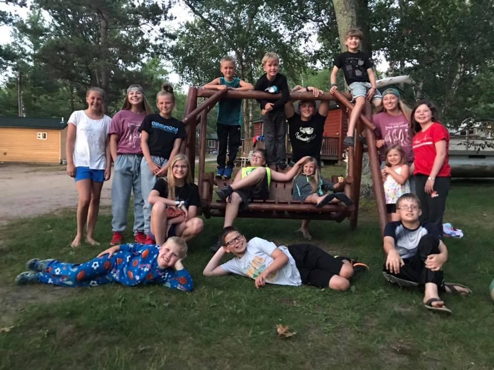 Group photo of kids.